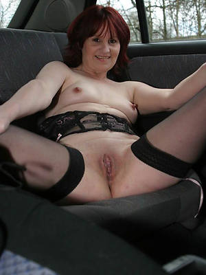 comely horn-mad mature nylon pic