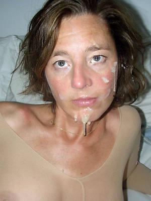 superb naked mature women facials photos