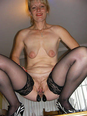 real mature women with respect to large vulva