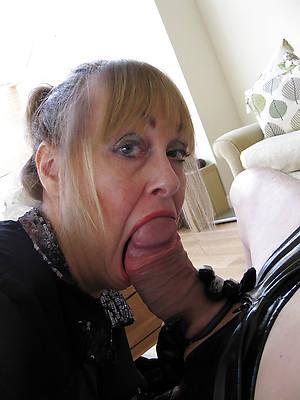 slutty mature women giving handjobs pics
