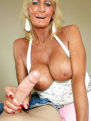 mature socking handjobs naked porn pics