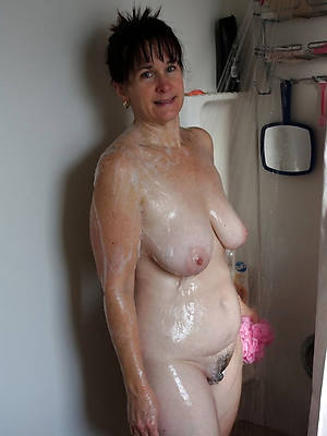 hot mature in the shower perfect body