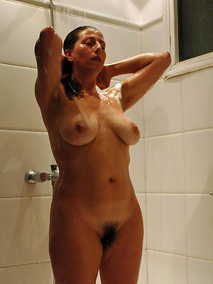best mature in shower complying hd porn pics