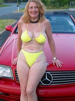 mature woman in bikinis free hot battle-axe porn
