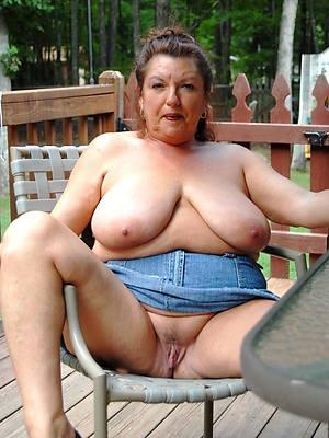 mature chubby tits