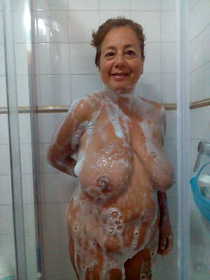grown up in the shower naked
