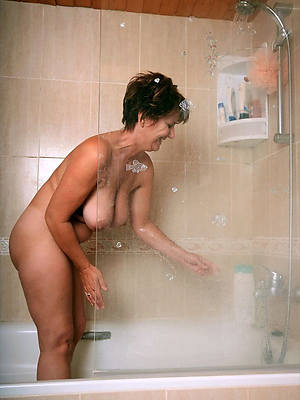 mature in the shower naked pics