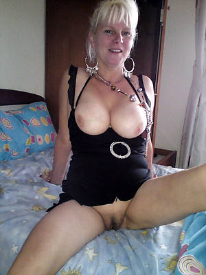 naked mature white woman porch