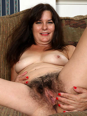 naked mature brunette in one's birthday suit pics