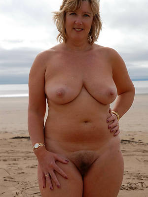 in one's birthday suit mature beach pictures