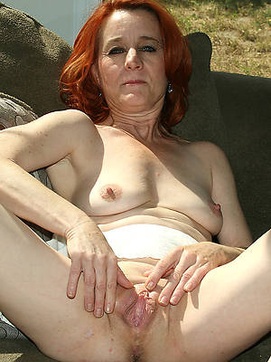 mature hairy redhead pussy shows pussy