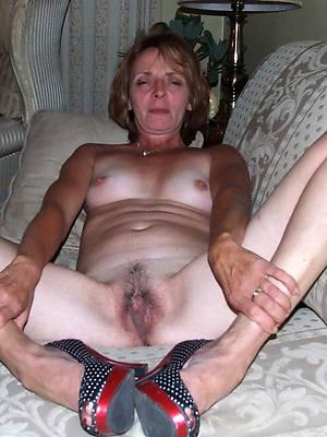 unforeseen hair mature girlfriend nude