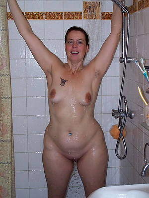 full-grown wife shower toffee-nosed def porn