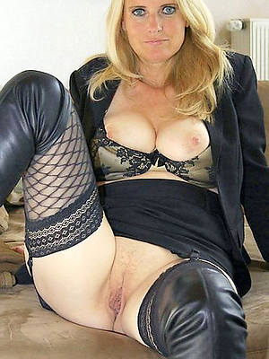 nude flaxen-haired mature hot porn