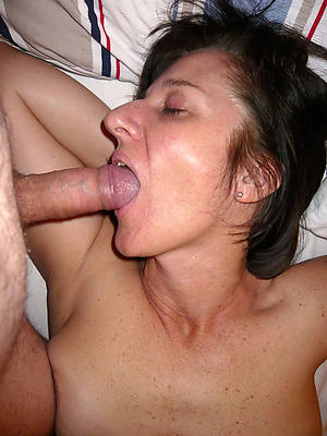 mature lady blowjob