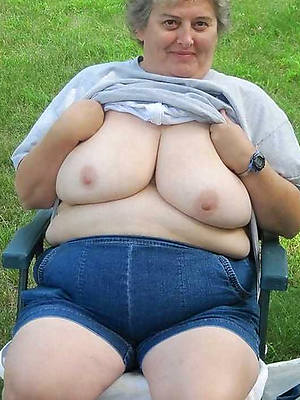 lovely downcast mature bbw saggy bosom pics