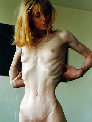 beautiful mature underfed denude