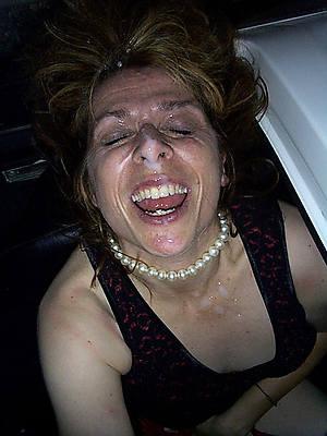 mature women facials
