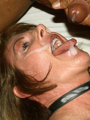 british mature facials porn pics