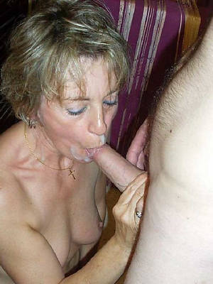 nasty mature facials nude photos