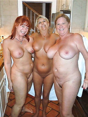 naughty older mature threesome pics
