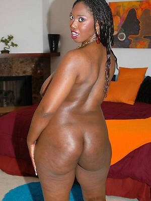 comely grown-up black woman