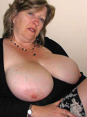 adult woman with big tits displaying say no to pussy