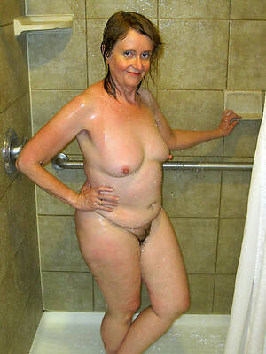 beautiful busty matured women in eradicate affect shower porn