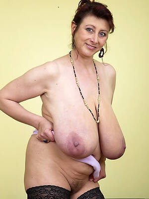 beautiful mature beamy big tits